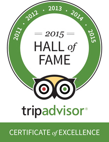 Trip Advisor Hall of Fame